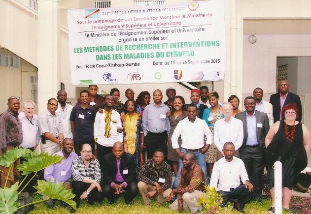 Ecole avancée Kinshasa IBRO sur les maladies neurologiques tropicales négligées et la méthodologie de la recherche scientifique)