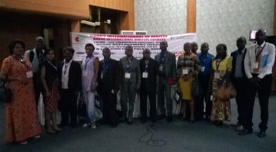 Délegation congolaise Dakar 2015-Cours Dialyse