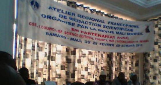 Atelier régional francophone de rédaction scientifique