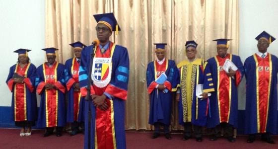 Présentation de la thèse d'agrégation (PhD) du Dr Mulangu Sabue