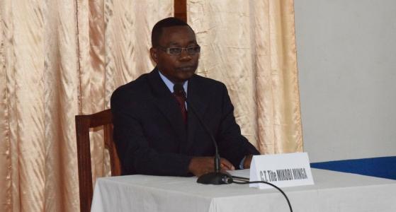 Défense de la thèse de Dr Mikobi Tite