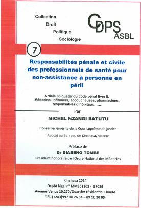 Responsabilités pénale et civile des professionnels de santé pour non-assistance à personne en péril