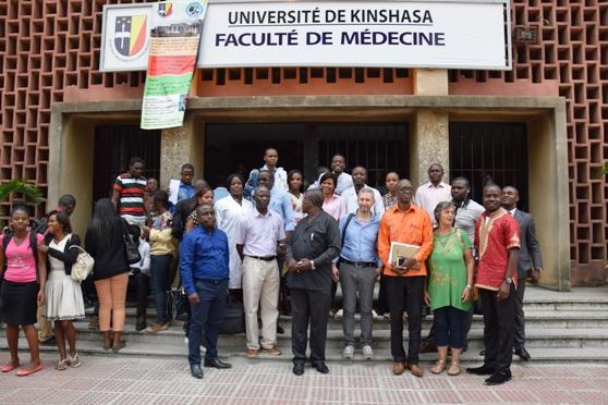 Conférence de Dr Antonio à la faculté de Médecine de l'UNIKIN