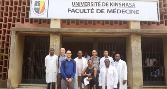 Visite de l'équipe de CDC de l'Université Notre Dame , USA