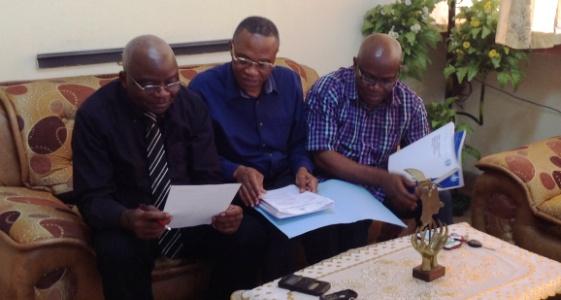 Professeur Mokasa Luc à la faculté
