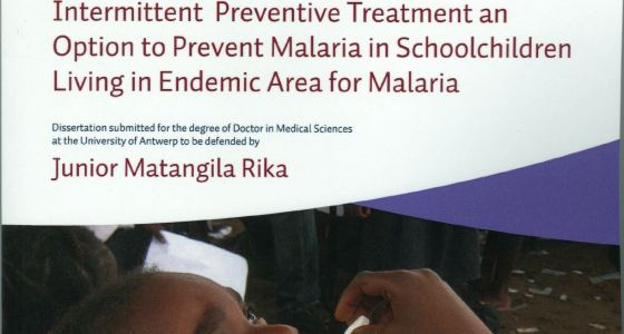 Intermittent Preventive Treatment an Option to Prevent Malaria in Sehoolehildren Living in Endemie Area for Malaria