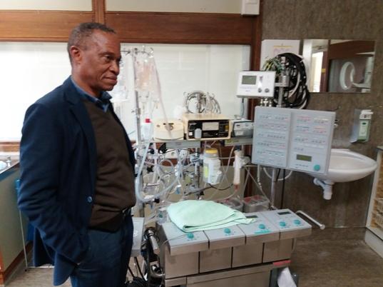 Visite du Centre de Médecine Expérimentale