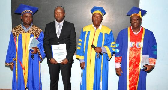Le Dr Tommy NSEKA a défendu son mémoire de spécialisation