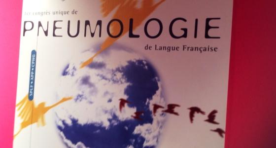 Au 21 ème congrès de la Société de Pneumologie de langue française