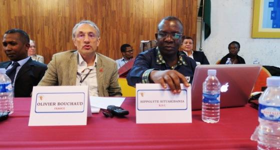 L'équipe du Professeur Situakibanza à Grand Bassam