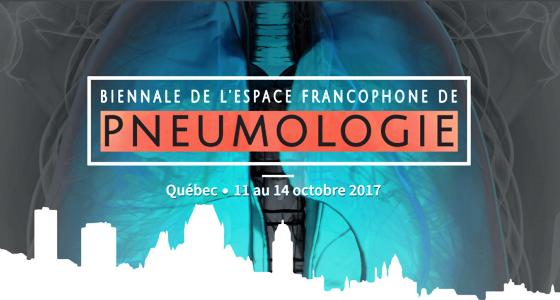 2ème Biennale de l'espace francophone de pneumologie (EFP) en octobre prochain