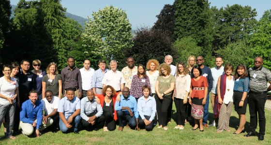 "The Professor Mashinda Kulimba Désiré, Vice Dean has participated at a course about ""Epidemiology in Complex Emergencies"""