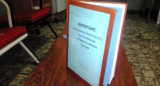 Recherche à la Faculté de Médecine, Liste des travaux de fin de premier cycle de 1985 à 1996