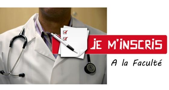 Inscription à la faculté de Médecine de l'Unikin (2017-2018)