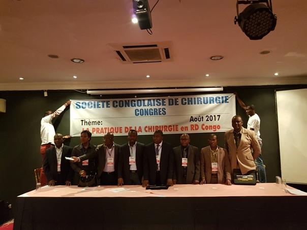 Quelques images au congrès de la société congolaise de Chirurgie