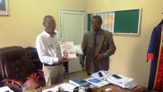 Professeur Jean-Jacques Muyembe est fait Dr Honoris Causa
