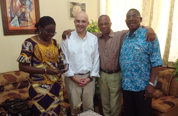 Visite du Professeur Dr Luis Chiva
