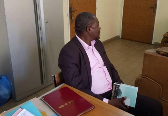 Le directeur du PNLP à la faculté