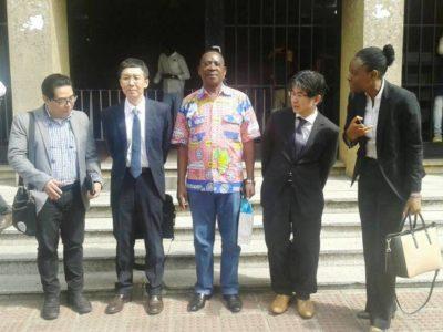 Visite d'une délégation du ministère de la santé du Japon