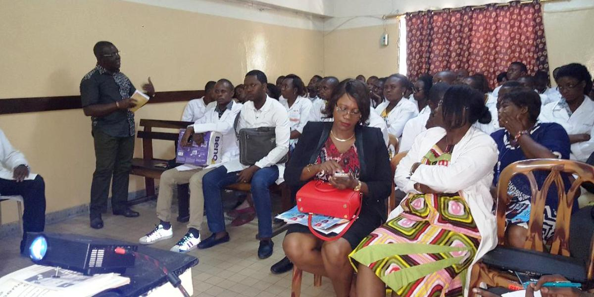 Séminaire sur la prise en charge du paludisme en RD Congo organisé le 07 mars 2018 par le Service des Maladies Infectieuses et Tropicales de Médecine Interne aux Cliniques Universitaires de Kinshasa
