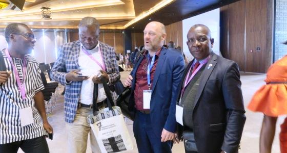 Septième Conférence de la Panafrican Multilateral Initiative on Malaria (MIM) à Radisson Diamniadio Hotel (Dakar II), Sénégal, du 15 au 20 avril 2018