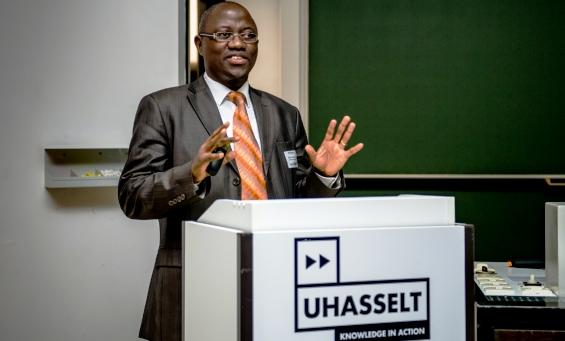 Professeur Hypolite Muhindo Mavoko en Belgique