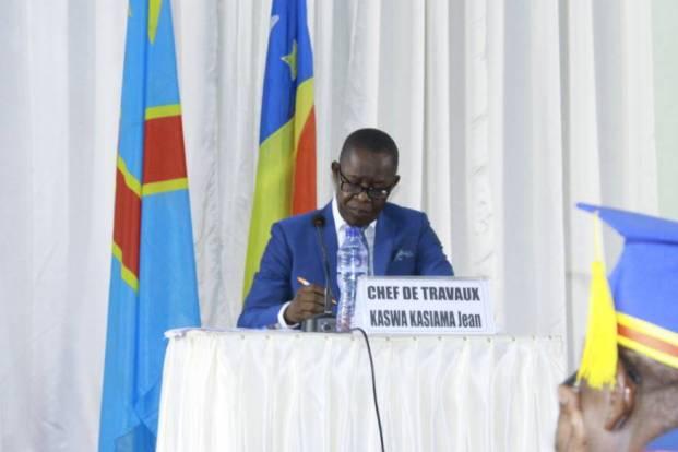 Défense publique de la thèse du Dr Kaswa