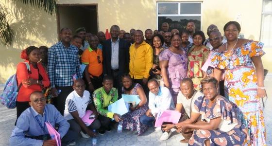 Cours de Management de lutte contre le Paludisme animé notamment par le Prof H. Situakibanza