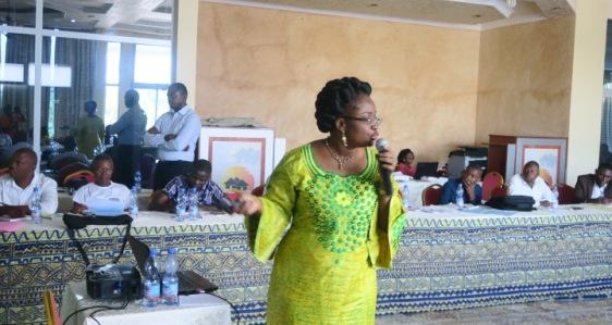 Cours de Management de lutte contre le Paludisme animé notamment par le Professeur Hypolite. Situakibanza