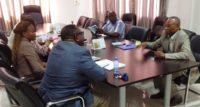VISITE AU Dr BONIFACE MUTOMBO et SON EQUIPE DE MCSP