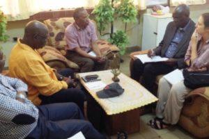 Visite de Travail au cabinet du Doyen