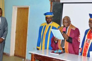 Dominique MBUINGA BINDA à présenté et défendu son mémoire