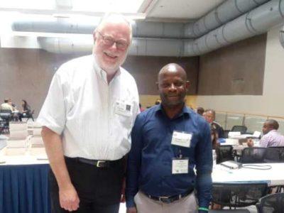 Le professeur Pierre Akilimali aux USA dans le cadre de renforcement de capacité
