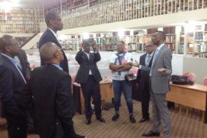 Visite du Chairman Mutombo Dikembe