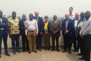 Visite d'une délégation de l'Université d'Antewerpen