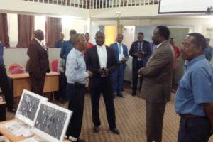 Visite à la faculté de Son Excellence Monsieur le Docteur LOLA KISANGA