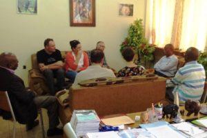 Le Doyen accueille une délégation de la KuLeuven
