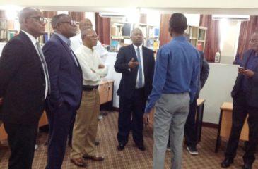 Visite au décanat de Mr Luvuyo L. Ndimeni