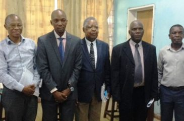 Mr LOFUTA OLENGA du département de Médecine Physique et réadaptation a défendu son mémoire de DEA