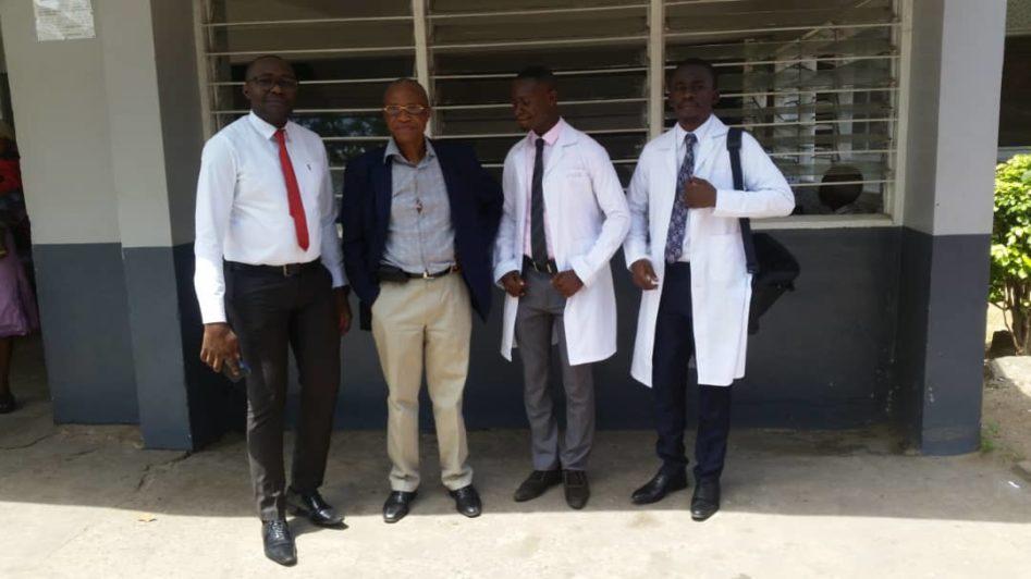 Les finalistes en médecine, promotion 2017 - 2018