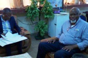 Mr Bob KAYEMBE de Bruxelles au Décanat