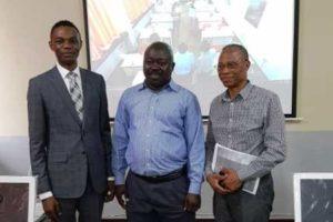 Le recteur de l'Université de Beni en visite