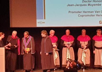 Professeur Jean-Jacques MUYEMBE, HONORIS CAUSA en Anvers (Belgique)
