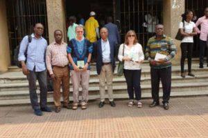 Une délégation Universitaire d'Angleterre au Décanat