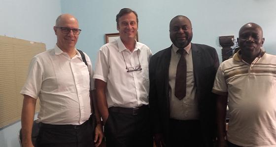Le VDE a reçu les professeurs Daniel Paris et Christian Burri