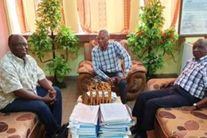 Visite du Dr Kalambayi  Kalula