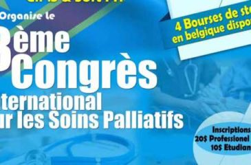 3ème congrès International sur les soins palliatifs : Soins palliatifs au coeur de la santé, culture et spiritualité.