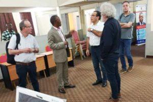 Visite à la faculté de la délégation de l'Université de Liège