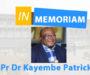 Professeur Kayembe Kalambayi Patrick